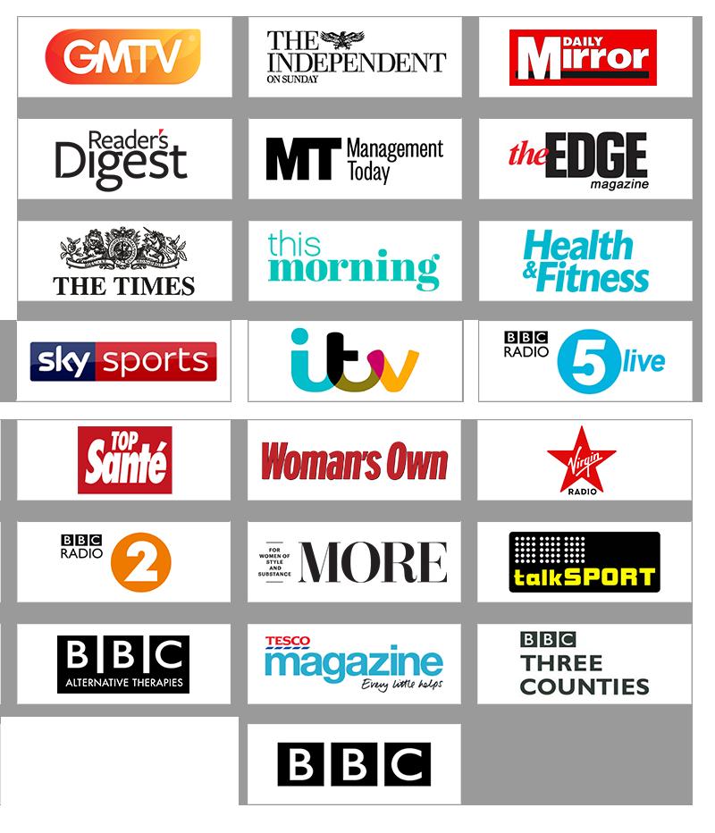 Elliott Wald Hypnosis Expert Appearance Media Logos