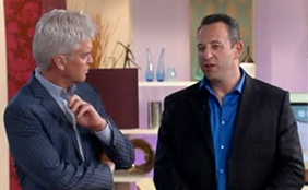Elliott Wald Hypnosis Expert On Live TV This Morning ITV with Philip Schofield